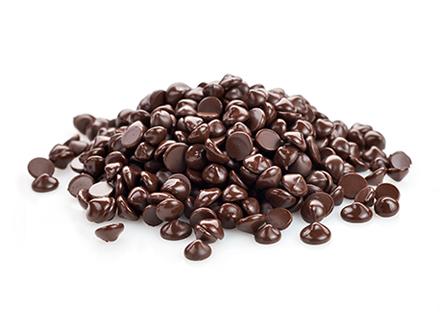 Čokoládové kvapky a poleva